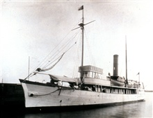 Coast and Geodetic Survey Ship ENDEAVOR.  Originally built during the Civil Waras a Confederate gunboat and named the LADY DAVIS.