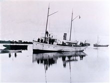 Coast and Geodetic Survey Ship YUKON in Alaskan waters.
