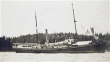 Coast and Geodetic Survey Ship THOMAS R. GEDNEY.In service 1875-1915.Pacific service