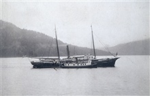 Coast and Geodetic Survey Steamer THOMAS R. GEDNEY and steam launch COSMOS.