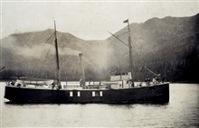 Coast and Geodetic Survey Steamer MCARTHUR.In service 1876-1915.Pacific service