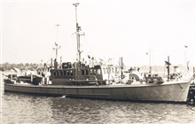 Coast and Geodetic Survey Ship PARKER.In service 1946-1957.Atlantic service