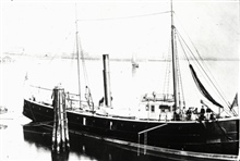 Coast and Geodetic Survey Steamer MCARTHUR.In service 1876 -1915.Alaska service