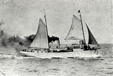 Coast and Geodetic Survey Steamer YUKON.In service 1898 -1923.Alaska service.Under sail and steam.