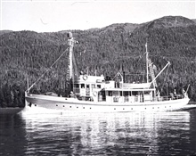 Coast and Geodetic Survey Ship PATTON.In service 1941-1967.Pacific service