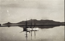 Coast and Geodetic Survey Steamer PATTERSON.In service 1884-1919.Pacific service.A still Alaska morning.