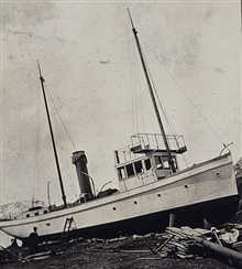 Coast and Geodetic Survey Ship YUKON ready for launching.In service 1898-1923.Pacific service.Ship had been secured for winter.