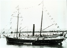 Coast and Geodetic Survey Steamer GEDNEY.In service 1875-1915.