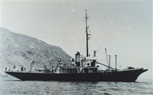 Fish and Wildlife Service Ship BLACK DOUGLAS.  This vessel was used for CALCOFIcruises off California and Baja California.