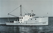 Fish and Wildlife Service Vessel CISCO.  Operated exclusively on the Great Lakes for fisheries research.