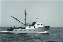 Bureau of Commercial Fisheries Research Vessel KAHO operated on the Great Lakes.