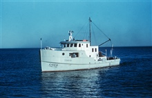 Bureau of Commercial Fisheries Research Vessel CISCO operated on the Great Lakes.