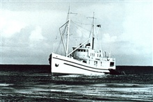 Fish and Wildlife Service Vessel PENQUIN II, used to supply the Pribilof Islands.