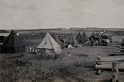 Camp with George E. Marsh
