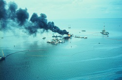 Greenhill Oil Spill - East Timbalier Island